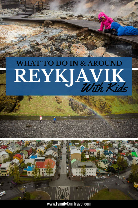 If you are going to Iceland then chances are you'll spend some time in Reykjavik. Here are our favourite things to see and do with kids around Reykjavik, Iceland. | Family Travel | Iceland | #iceland #bluelagoon #reykjavik #familytravel