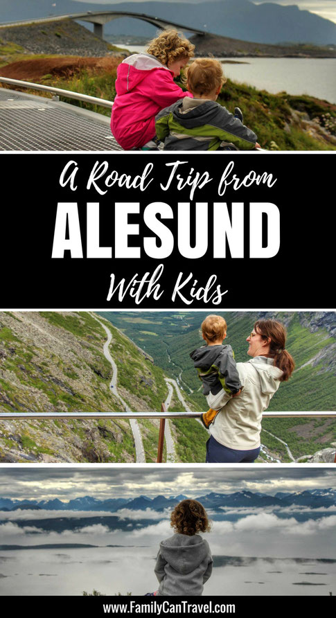 Wondering what else to do from Alesund, Norway? Check out our road trip in Norway to see the Atlantic Road, Molde Panorama and Trollstigen! | Family Travel | Norway | Atlantic Ocean Road | Trollstigen #norway #trollstigen #familytravel