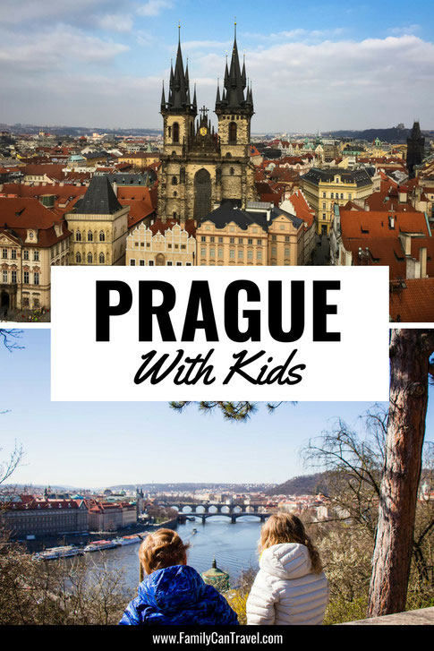 Prague, one of the most beautiful European cities, is so kid friendly. We easily filled 6 days in Prague with kids. Click to read the things we loved best in Prague with children. #prague #czechrepublic #praguewithkids #travelwithkids #familytravel