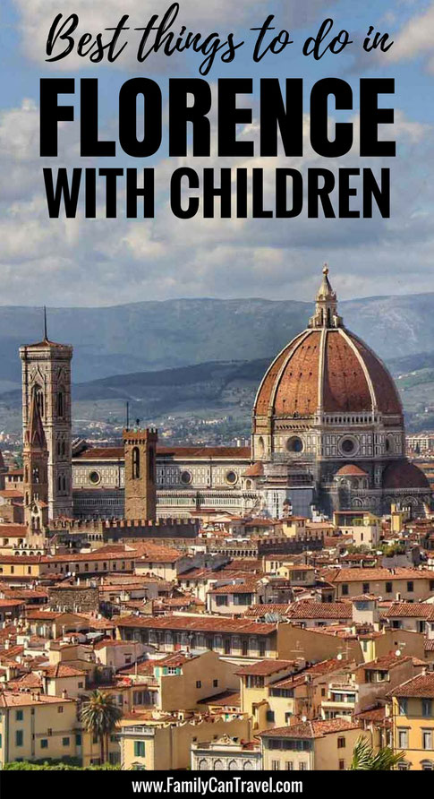 Don't miss Florence when travelling with kids! Here's the best things to do in Florence, Italy with kids! | Family Travel | Florence with kids | Travel with kids | Toddler Travel | #familytravel #toddlertravel #travelwithkids #italy #Florence