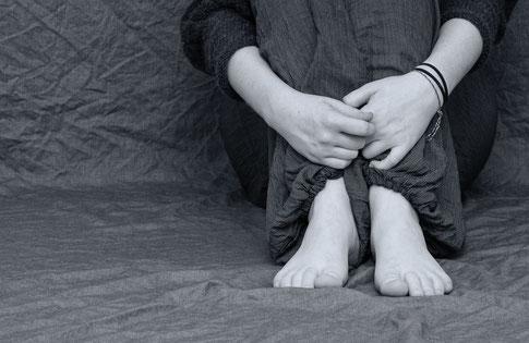 Eine postttraumatische Belastungsstörung kann die Folge von traumatisierenden Ereignissen sein