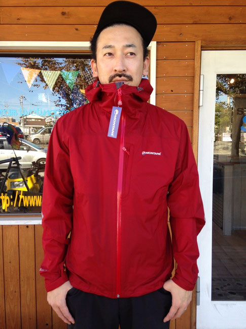 MONTANE(モンテイン)MINIMUS MOUNTAIN JACKET ¥34,560(税込)