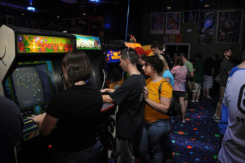 Games arcades. The good old days