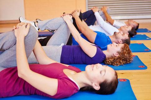 ginnastica gruppo, fisioterapia