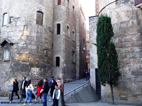 Барселона - крепостные стены города