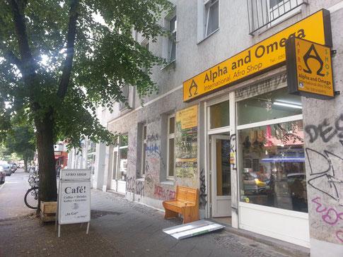 African Market Store Alpha and Omega Afroshop Berlin Neukölln