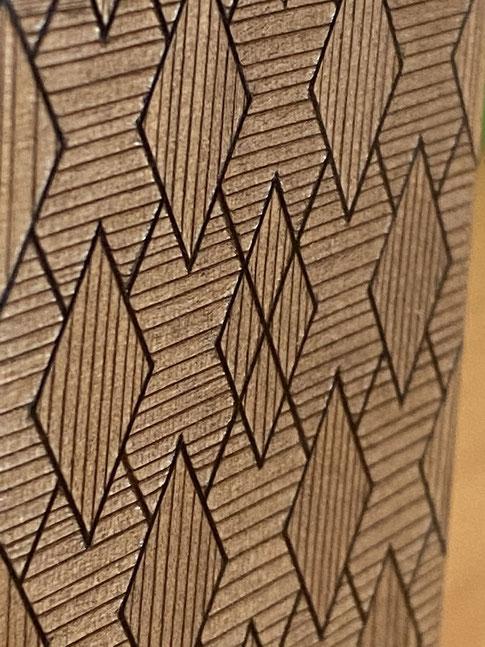 彩線木象嵌部分