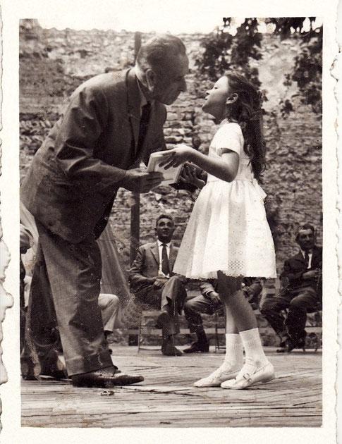 Distribution des prix 1964 : l'élu : ? - l'élève : Edith CHABOT