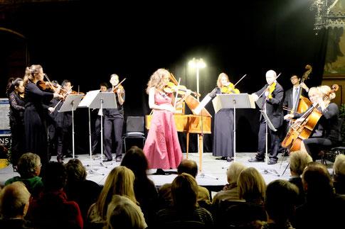 Göttinger Kammerorchester, Natalie Kundirenko - Violine, 12.12.2016