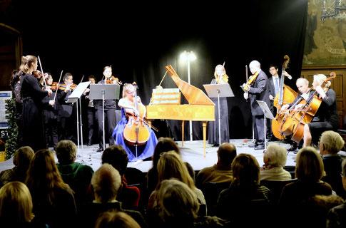 Göttinger Kammerorchester, Chiara Maria Schwetje - Violoncello, 12.12.2016