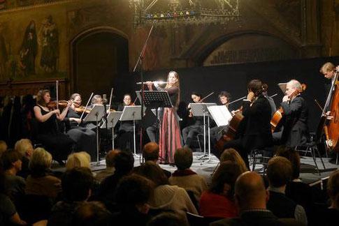 Göttinger Kammerorchester, Bettina Bormuth - Flöte, 20.11.2017
