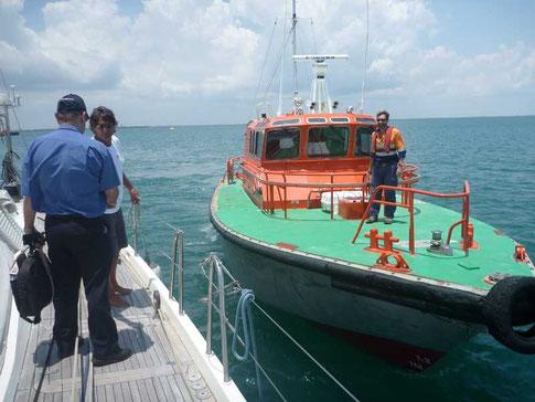 pilote obligatoire pour les bateaux de plus de 25m