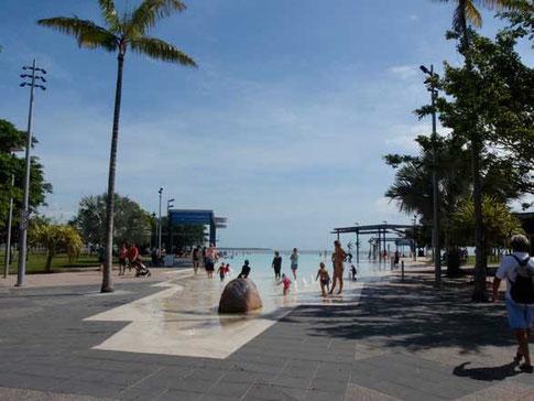 la lagoon artificiel en plein centre ville
