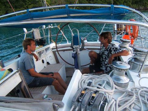 Tangaroa, un bateau sur et confortable