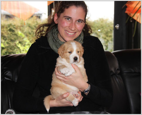Ponia mit Audrey am 20 März 2010