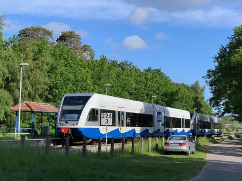 Usedomer Bäderbahn UBB  © Foto Peter Schmidt 052019