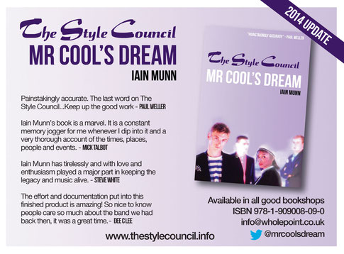 Mr Cool's Dream 2014 paperback