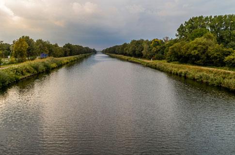 Kanaal Wessem-Nederweert vanaf de Ellerbrug