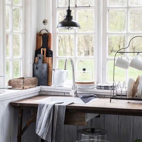 Ib Laursen Holzleiste Mit 6 Klammern Weiss Verliebtes Zuhauses