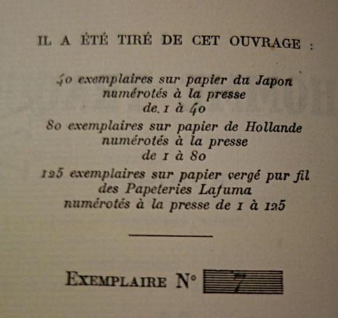 livre rare ancien, édition originale, L'Homme traqué de Francis Carco, exemplaire sur Hollande