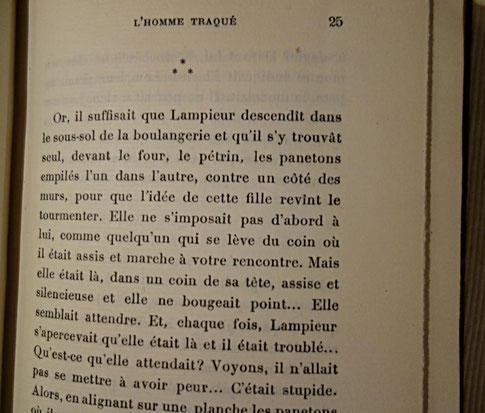 livre rare ancien, édition originale, L'Homme traqué de Francis Carco, grandes marges