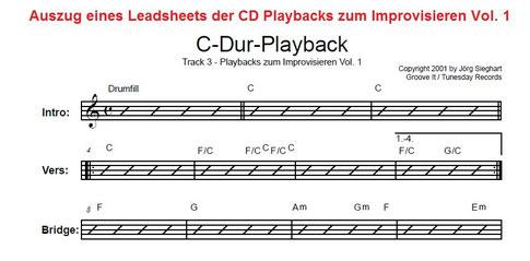 E-Gitarre lernen mit Playbacks zum Improvisieren