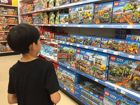 ゲームにするか? LEGOにするか?、、それとも、、、