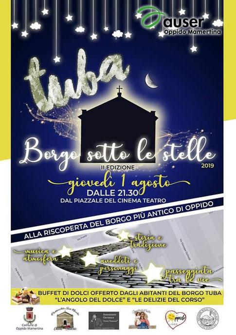 "Oppido Mamertina - ""Tuba. Borgo sotto le stelle 2019"". I agosto 2019"