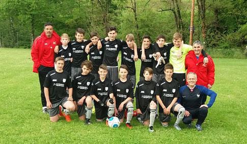 L'équipe U 15 2016 - 2017