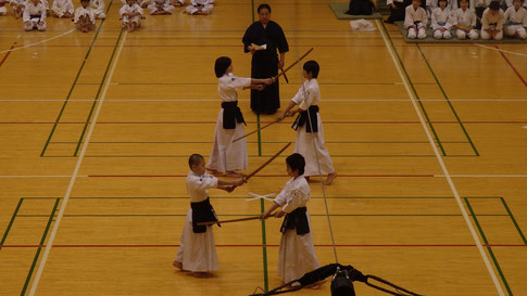演武:木刀による剣道基本技稽古法