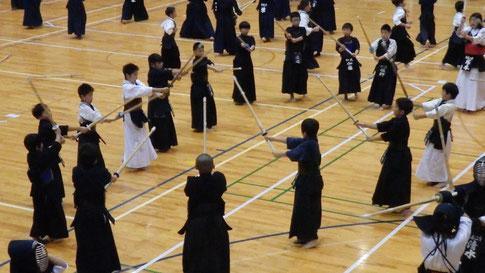 いつも通りの剣道ができるかな?