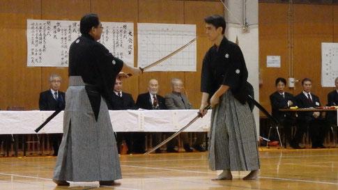 上村先生、木村先生による日本剣道形