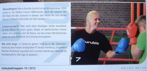 Volleyballmagazin 10 / 2012