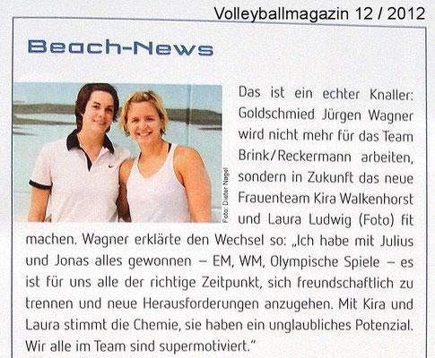 Volleyballmagazin 12 / 2012