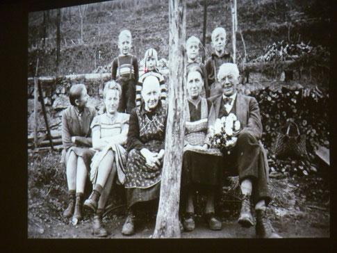 Besuch bei Oma und Opa in Eibach