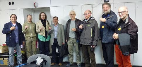 JURY - Anton Szomolányi SLO, Vjekoslav Zivkovic HRV, Romy Van Krieken NLD, Josep Rota ESP, Tomáš Hučko SLO, Guido Haesen LUX, Dave Watterson GBR & Coordinator Rolf Leuenberger CHE
