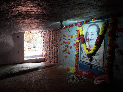 Manonash Cave inside