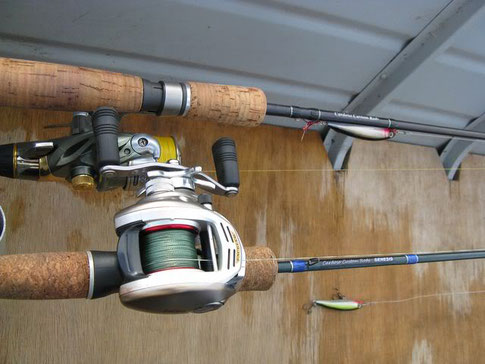 Material utilizado na pescaria