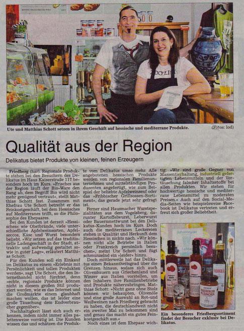 Wetterauer Zeitung Delikatus