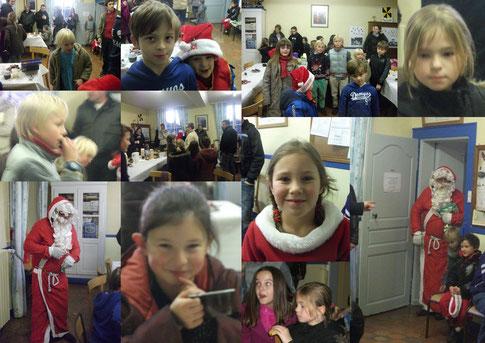 goûter de Noël 2010