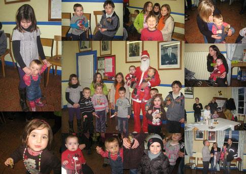 goûter de Noël 2012