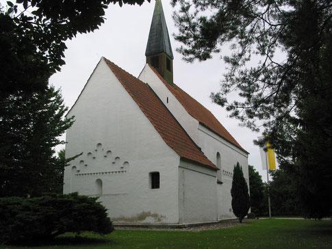 das Mallertshofener Kircherl aus der Nähe - St. Martin