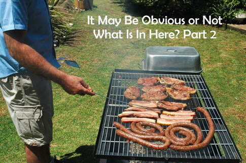 A delicious outdoor grill meal or a delivery system for anti-biotics?