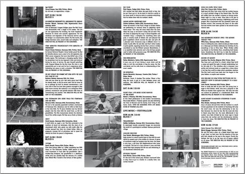 IDENTITY CORPORATE DESIGN OKSEO FILMFESTIVAL FLENSBURG FILMFESTIVAL PLAKATE POSTER PRINTWORK EINTRITTSKARTEN JUTEBEUTEL FLYER