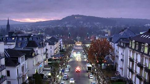 Dezember 2013 - Start der Webcam auf dem Bahnhof in Bad Nauheim