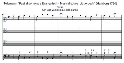 Telemann: Fast allgeneines Evangelisch = Musicalisches Liederbuch