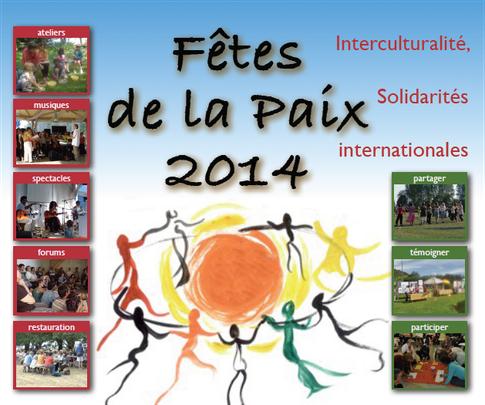 Fêtes de la paix 2014 - Interculturalité, solidarités internationales