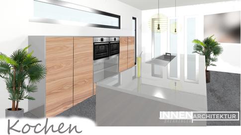Designerküche Küche modern hochglanz Planung Visualisierung Innenarchitektur Brenninger, Einrichtungsberater Einrichtungsplaner, Möbelfachhandel Saxen Bezirk Perg  Dan Küchen