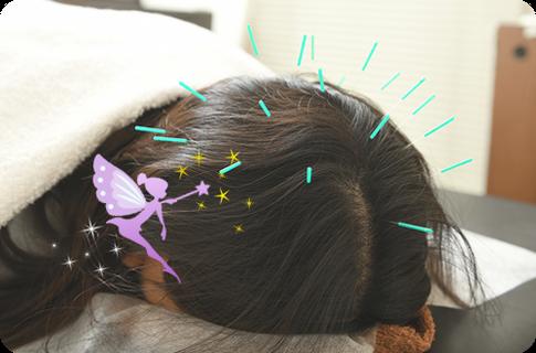 薄毛、抜け毛、髪の艶・はり・ ボリューム改善&白髪予防に