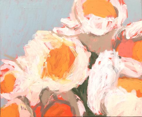 CRISS CROSS 1 , 54x65cm , acrylic on canvas